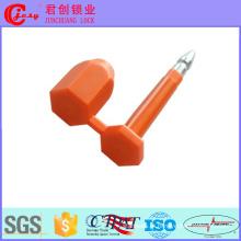 Selos de parafuso de alta segurança de material metálico para contêineres Jcbs-604