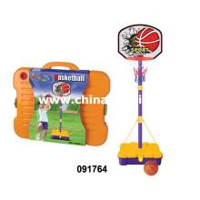 Crianças, pé, basquetebol, tábua, basquetebol, mão, bombas, screwdriver, (091764)