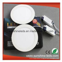 3W/6W/9W/12W/15W 3 Years Warranty Dimmable LED Panel Light
