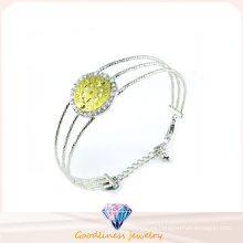 Pulsera de plata de la mujer de la venta al por mayor de la fábrica 925 (G41270)