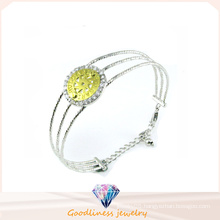 Factory Wholesale Woman′s 925 Silver Bangle (G41270)
