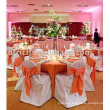 Polyester chair cover,Banquet/hotel chair cover,satin sash