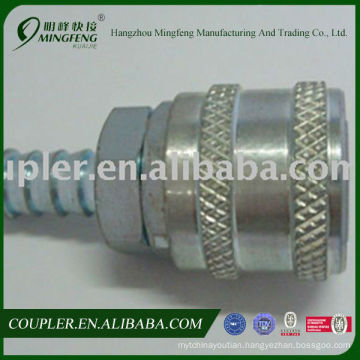 Pneumatic ARO type steel quick disconnect air fittings