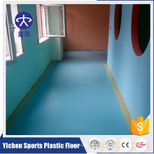 Tapete de revestimento de PVC vinil para jardim de infância