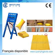 Bestlink Pushing Air Bag for Marble Block Cutting