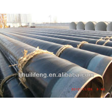 High Quality 3LPE lining insulation steel pipe with API 5L