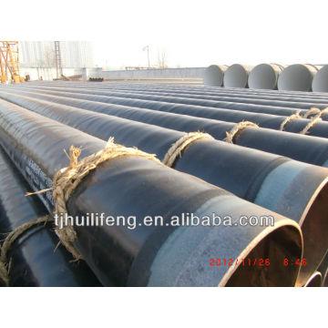 Tubo de acero del aislamiento de la guarnición 3LPE de la alta calidad con el API 5L