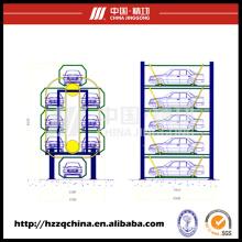 Sistema de Empilhamento Multi-Deck, Cíclico e Equipamento Automatizado para Estacionamento Automóvel ao Ar Livre