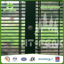 Высокая безопасность ПВХ покрытием проволока сетка забор