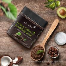 OEM Herbal Exfoliate Natural Coffee Body Scrub Whitening Coffee Body Scrub