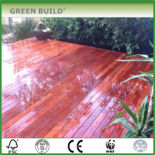 Красный уцененный трещиностойкий мербау твердый decking сада