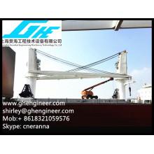 Электрический тяжеловесный грузовой палубный кран 35T