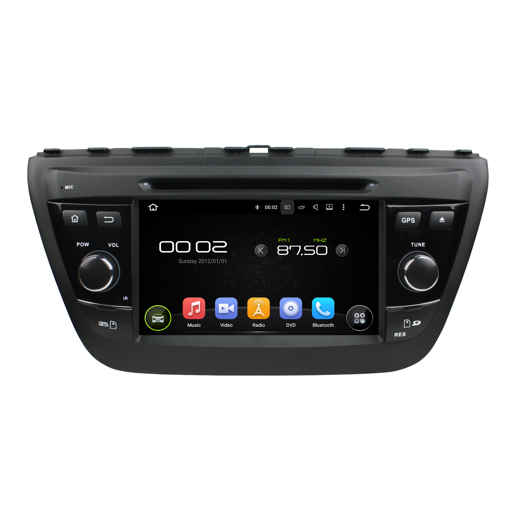 Android 5.1 car DVD for Suzuki SX4 2014