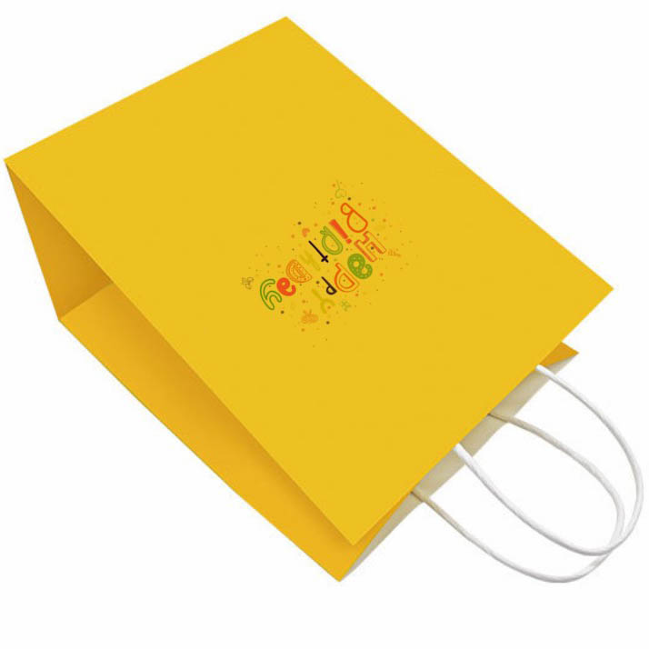 Coloured Kraft Bags