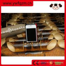 chinois portable téléphone portable bambou haut-parleur