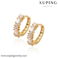 (90031)Xuping Fashion High Quality 18K Gold Plated Earring