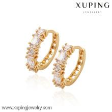 (90031) Xuping moda alta qualidade 18k banhado a ouro brinco