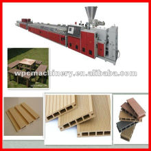 PE WPC production line wooden plastic production line