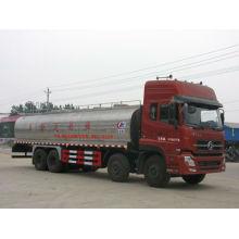Dongfeng Tianlong 8x4 camion à lait, 26000L camion de transport de lait