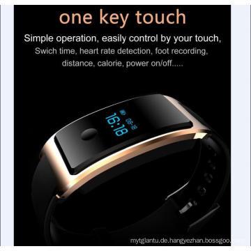 Intelligente Armbanduhr Wasserdicht Eingebauter USB Wechat Interconnection Pulsmesser Die Bluetooth Schlafüberwachung Super - Long Standy