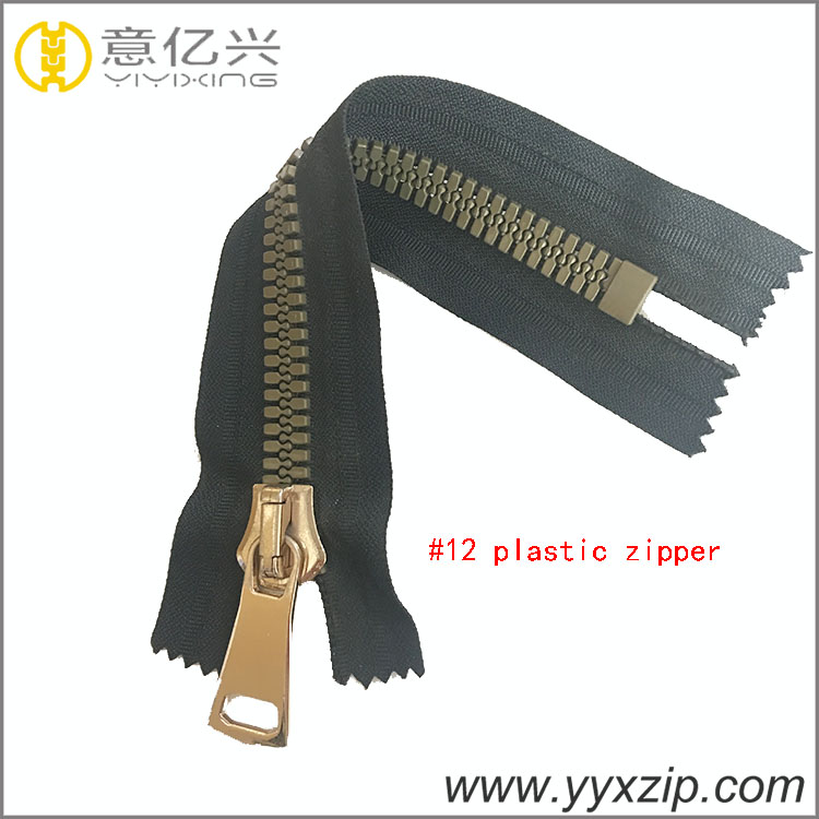 heavy duty plastic zipper