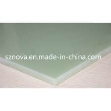 Folhas laminadas de vidro epóxi Fr4 / Hgw2372 / G10 / Epgc201