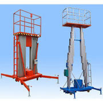 Double Mast Alloy Aluminum Hydraulic Work Platform