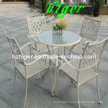 Alto hermoso metal al aire libre muebles (HG811)