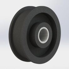 plastic Idler Pulleys with Needle Bearings