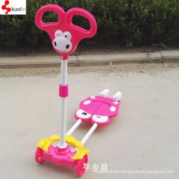 3 or 4 Wheel Plastic Walker Baby Scooter