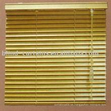 Nuevo diseño Cortina veneciana de madera y bambú