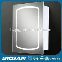 Caixa de espelho de banheiro com luz LED Modern Euro Design