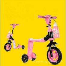 New Child Push Kick 3 Wheel Mini Ride on Toy Toddler Kids Scooter