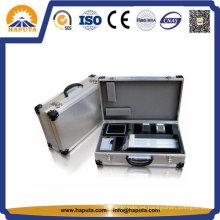 Flight case de aluminio duradero para instrumento, musical, CD