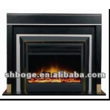 ready-made good quality MDF electric fireplace mantel