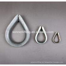 Europäische Art hohe Qualität große und schwere Pflicht steel wire thimble