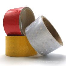Pegatinas individuales personalizadas promocionales, cinta adhesiva reflectante respetuosa del medio ambiente
