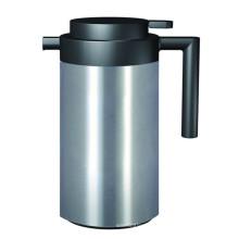 Aço inoxidável pote de café com recarga de vidro para casa