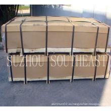 Chapa de techo de aluminio buen precio 3003 HO