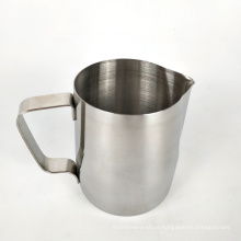 stainless steel pouring spout espresso frothing pitcher cup for latt art