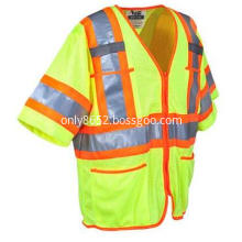 Yellow Class 3 reflective Safety vests