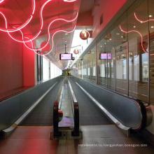Публичных Автоматический Запуск Пассажирского Наклонный Крытый Открытый Движущийся Тротуар
