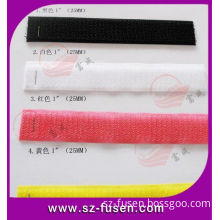 Oem Nylon And Polyester Soft Loop Fabric , Colorful Hook / Loop Rolls