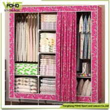 Grande taille porte rideau chambre à coucher personnalisé tissu meubles armoires
