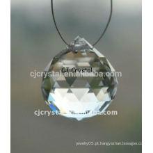 Modern Crystal Ball Candelabro, Crystal Ball