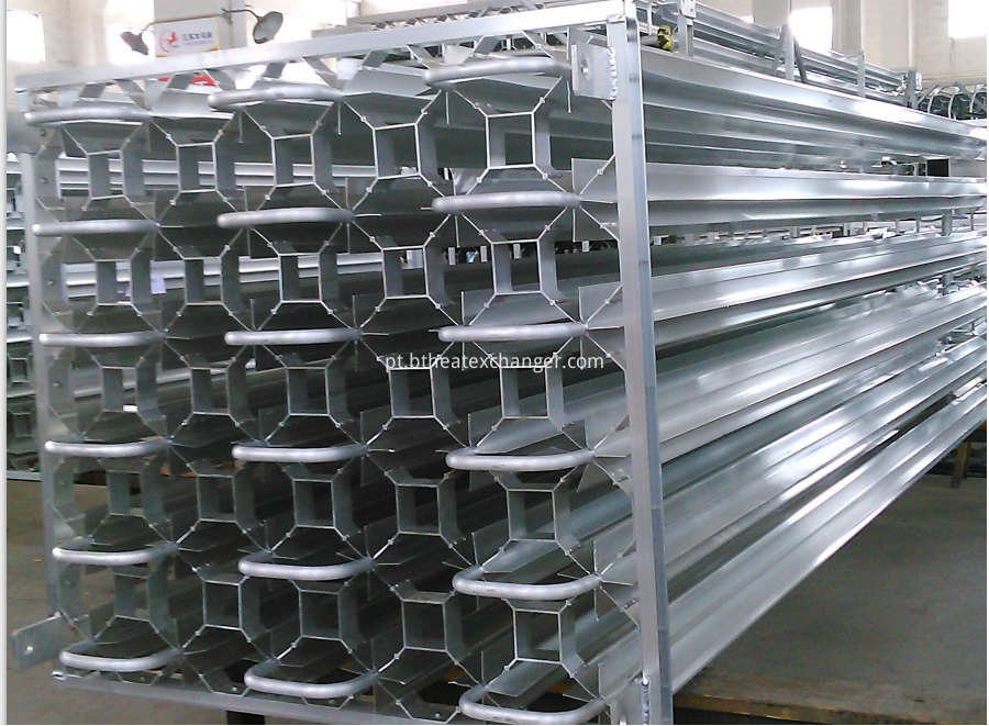 Finned Tube Heat Exchanger(Ambient Vaporizer) Structure