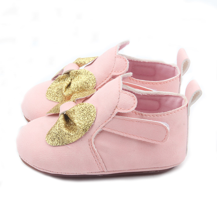 Pink Cute Bowknot Kids Casual Shoes