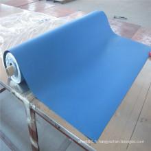 Tapis de table ESD antistatique bleu à deux couches de haute quanlité