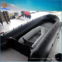 8m Long Boat bateau gonflable militaire noir 0,9 mm canots pneumatiques de sauvetage