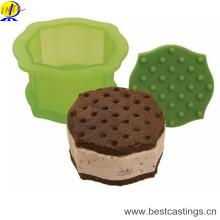 Moules en plastique de biscuit d'outils de décoration qui respecte l'environnement
